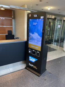 sap visitor management kiosk